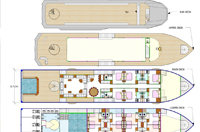 Virgo 88  EVENT YACHT 47 layout