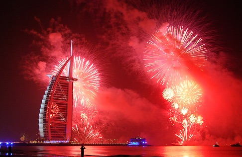 New Year Charter Burj Al Arab Fireworks new year's eve charter New Year's Eve Charter Burj Al Arab Fireworks