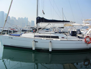sailing boat used sailing yachts Used Sailing Yachts oceanis34 thumb
